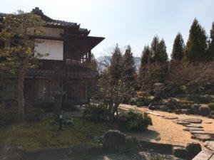 菜香亭の庭